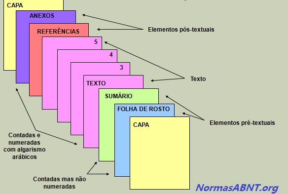 Normas ABNT - estrutura