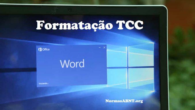 Formatação TCC no MS Word