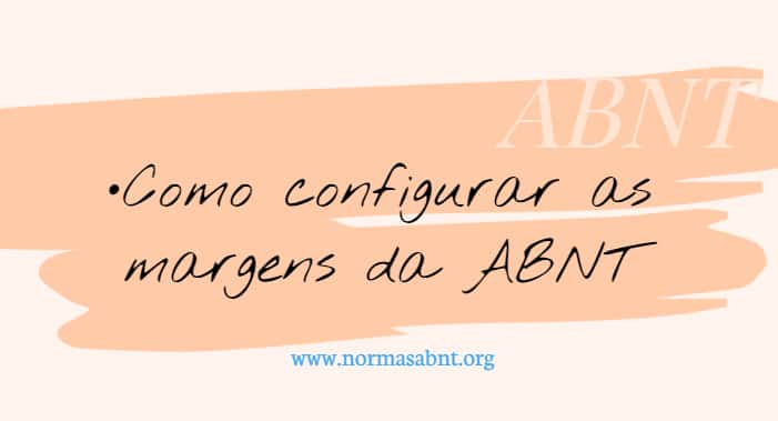 margens ABNT