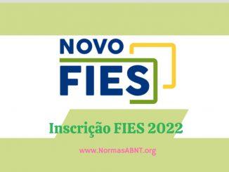Inscrição FIES 2022