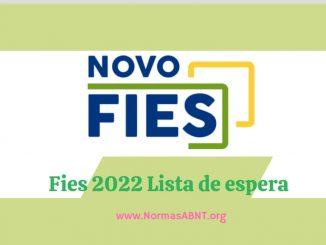 Fies 2022 Lista de espera
