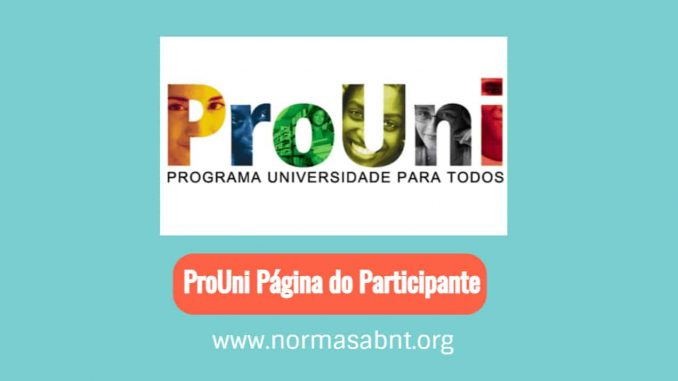 ProUni Página do Participante