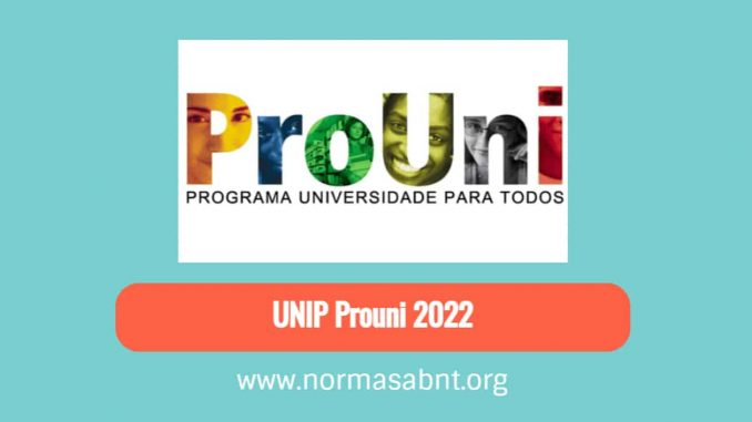 UNIP Prouni 2022