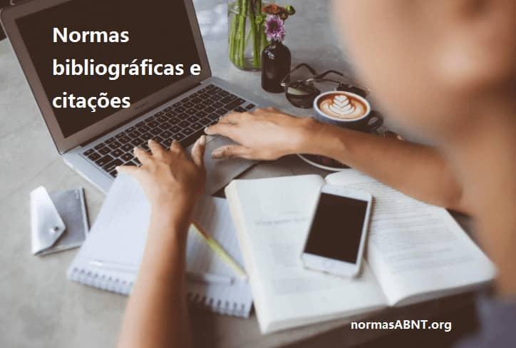 Normas bibliográficas e citações