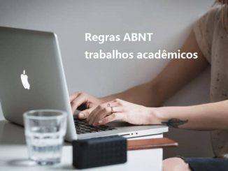 Regras básicas ABNT trabalhos acadêmicos