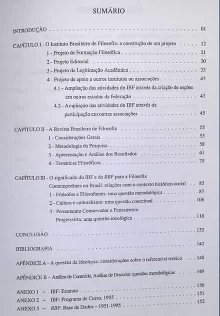 Modelo Pré-textuais Sumário