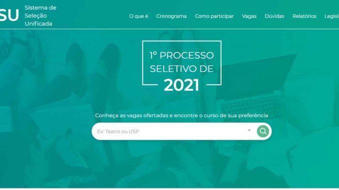 inscrever no Sisu 2022 passo a passo