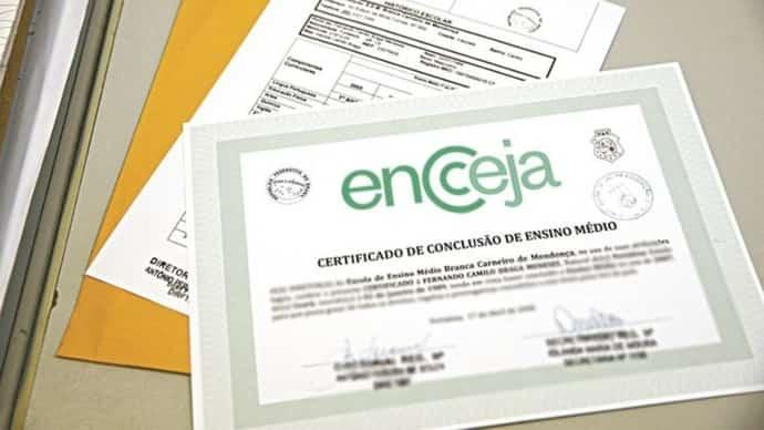 certificação de conclusão de ensino médio
