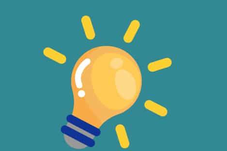 uma lâmpada - dicas