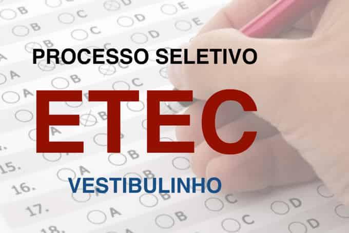 Classificação geral para processo seletivo etec