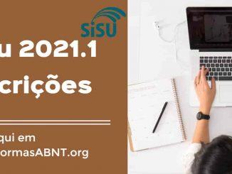 inscrição Sisu 2021