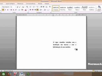 exemplo de epígrafe em word