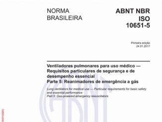 ABNT NBR ISO 10651-52017