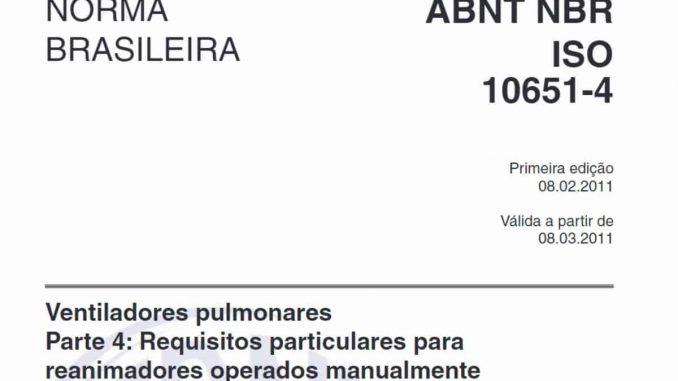 ABNT NBR 10651
