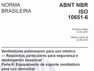 Código - ABNT NBR ISO 10651-6:2015