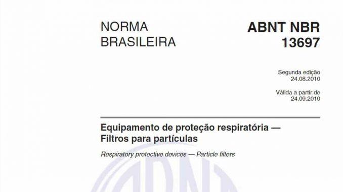 ABNT NBR 13697