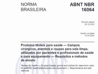 ABNT NBR 16064
