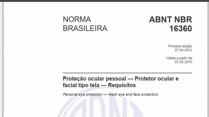 ABNT NBR 16360