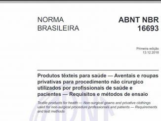 ABNT NBR 16693