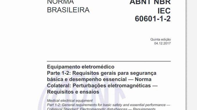 ABNT NBR IEC 60601-1-2:2017