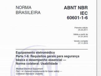 ABNT NBR IEC 60601-1-6