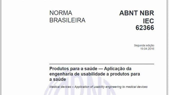 ABNT NBR IEC 62366