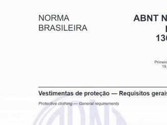 ABNT NBR ISO 13688