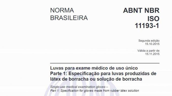 Código - ABNT NBR ISO 11193