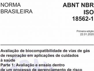 Código - ABNT NBR ISO 18562-1