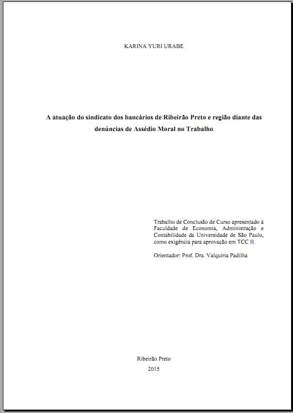 Pré-textuais Folha de Rosto modelo 2
