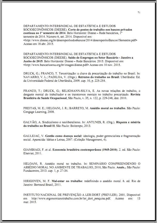 Referências Bibliográficas - modelo 2