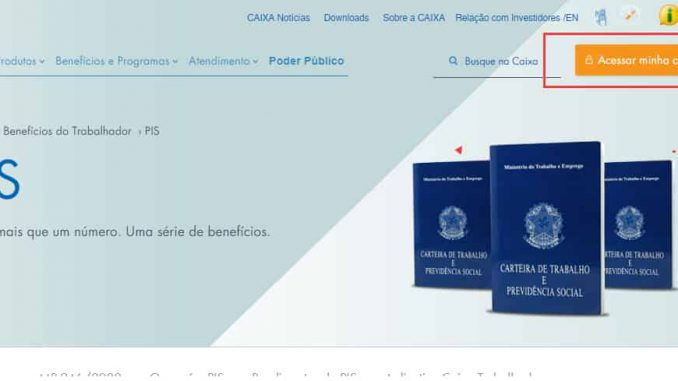 Consultar PIS 2022 online caixa