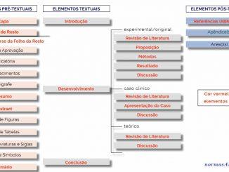estrutura do trabalho pela abnt 2021