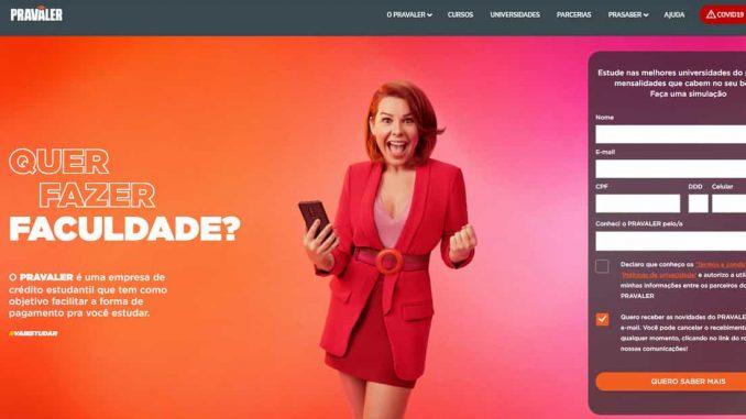 pravaler 2022 website