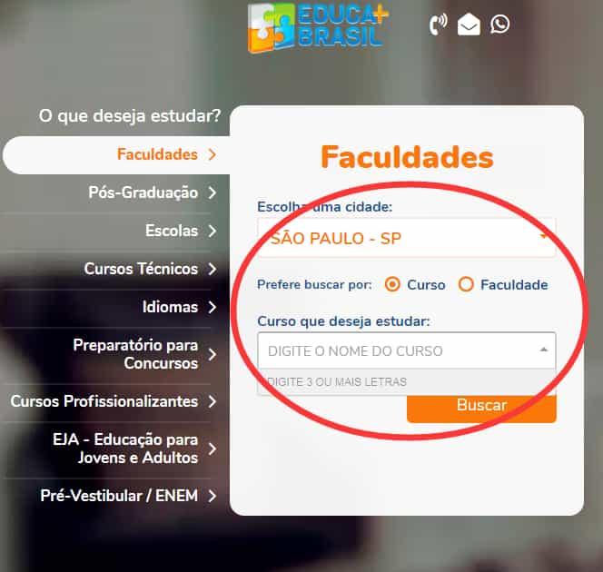 inscrição para educa mais brasil