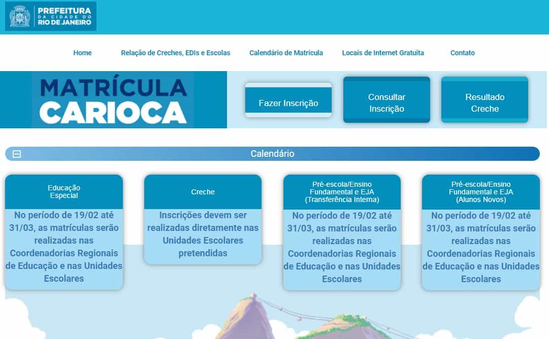 Inscrição Matrícula Rio 2022