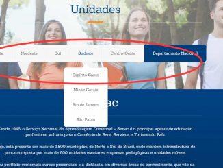 senac br site oficial
