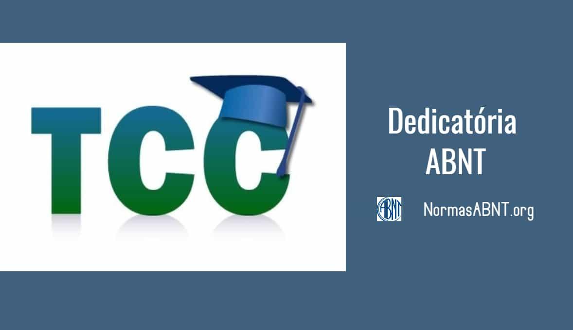 Normas ABNT para a Dedicatória do TCC