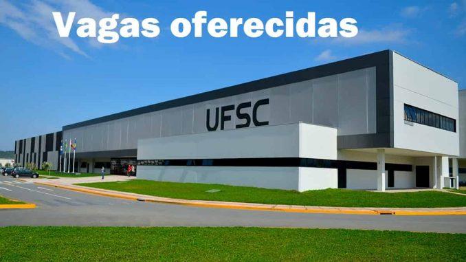 Vagas oferecidas UFSC