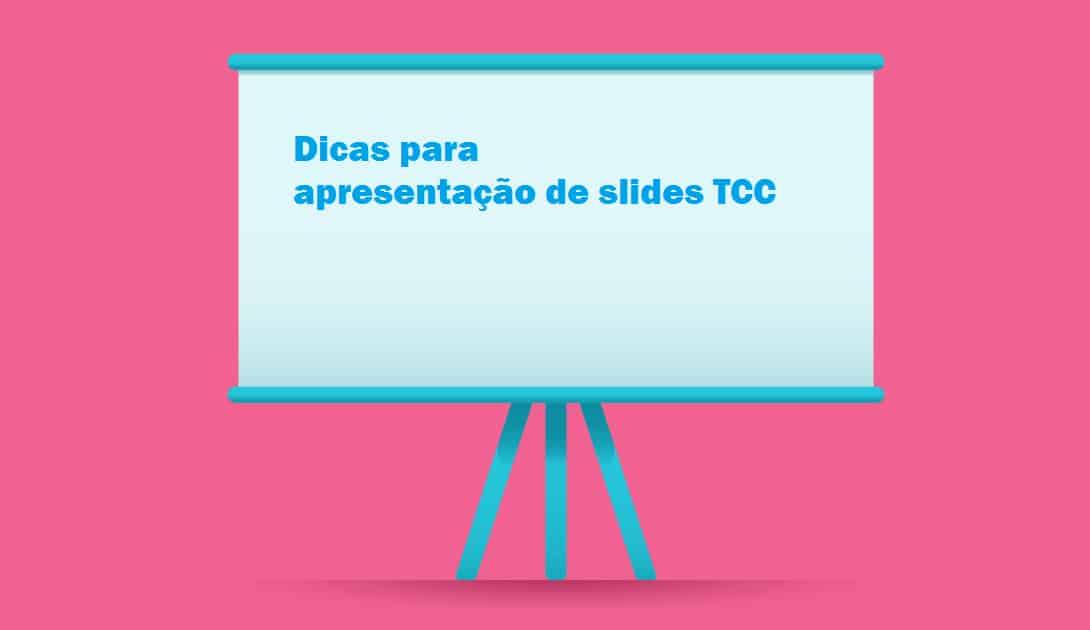 Dicas slides TCC