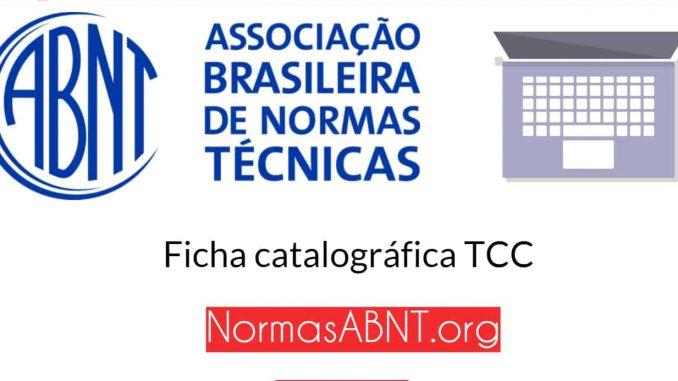 O que é ficha catalográfica TCC